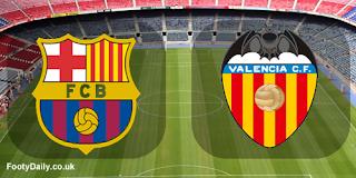 موعد مباراة برشلونة  ضد فالنسيا السبت 14-9-2019 ضمن الدوري الأسباني