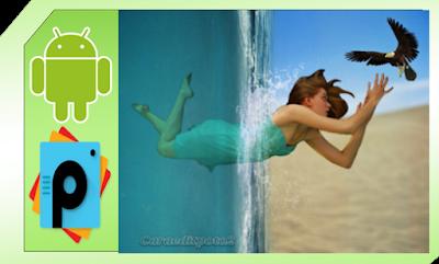 Manipulasi PicsArt Underwater Keren