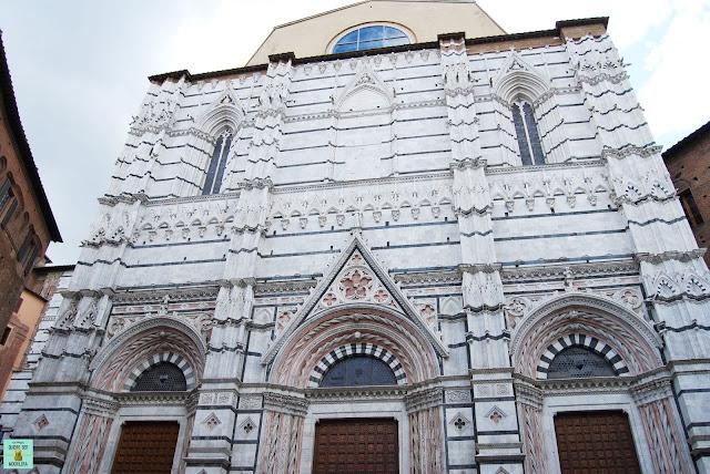 Baptisterio de San Giovanni en Siena