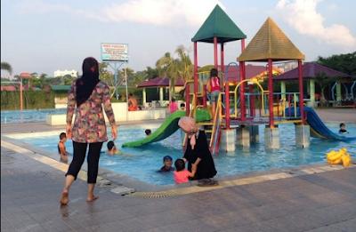 Kolam Renang Green Dim Park, Green Dim Park Medan, Kolam Renang Di Kota Medan