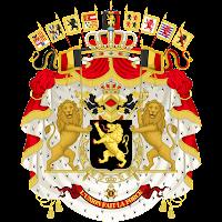Logo Gambar Lambang Simbol Negara Belgia PNG JPG ukuran 200 px
