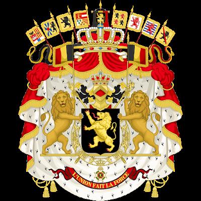 Coat of arms - Flags - Emblem - Logo Gambar Lambang, Simbol, Bendera Negara Belgia