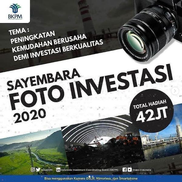 [GRATIS] Lomba Fotografi Nasional 2020 di BKPM