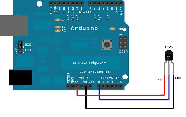 Lm35 Temperature Sensor Interfacing With Arduino