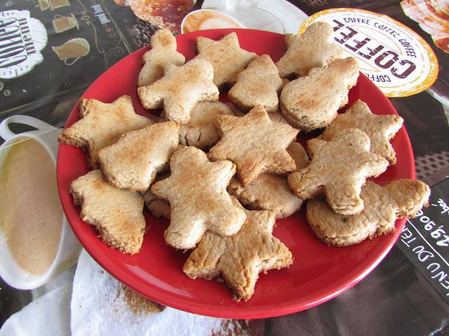 Ciasteczka kruche z marcepanem