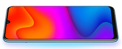Huawei-Y8p-OLED-display