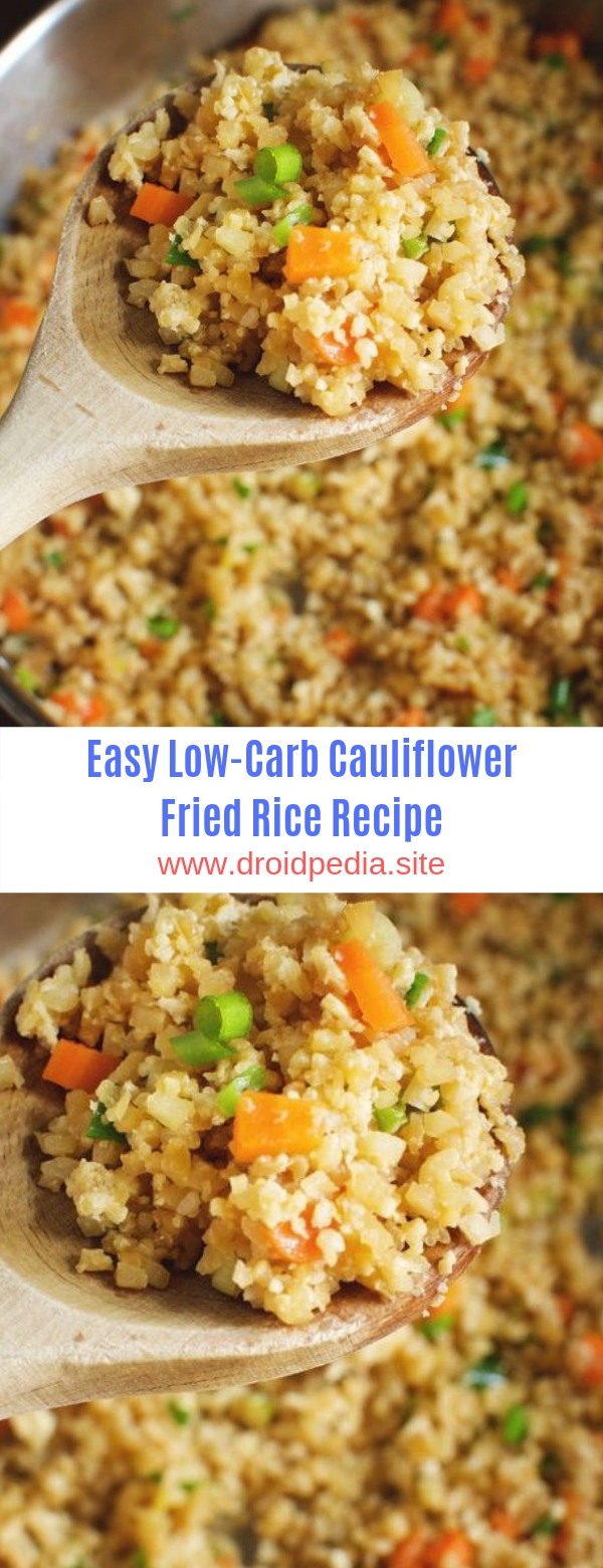 Easy Low-Carb Cauliflower Fried Rice Recipe