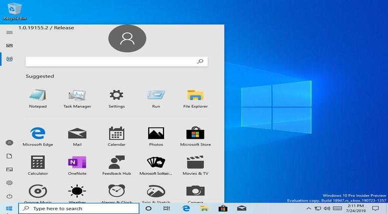 Microsoft windows 10 accidental release