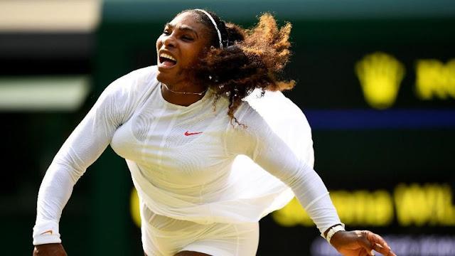 Serena Williams Maju ke Perempatfinal Wimbledon