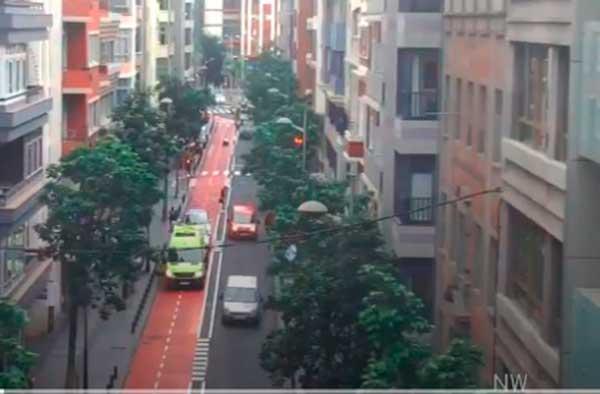 Una persona sin techo muere en la calle, Las Palmas de Gran Canaria