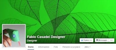 Pagina facebook Fabio Casadei Designer