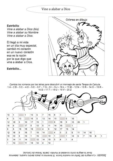 La Catequesis El Blog De Sandra Recursos Catequesis Fichas De