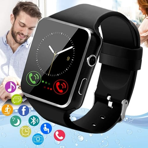 Pradory Touch Screen Bluetooth Smart Watch