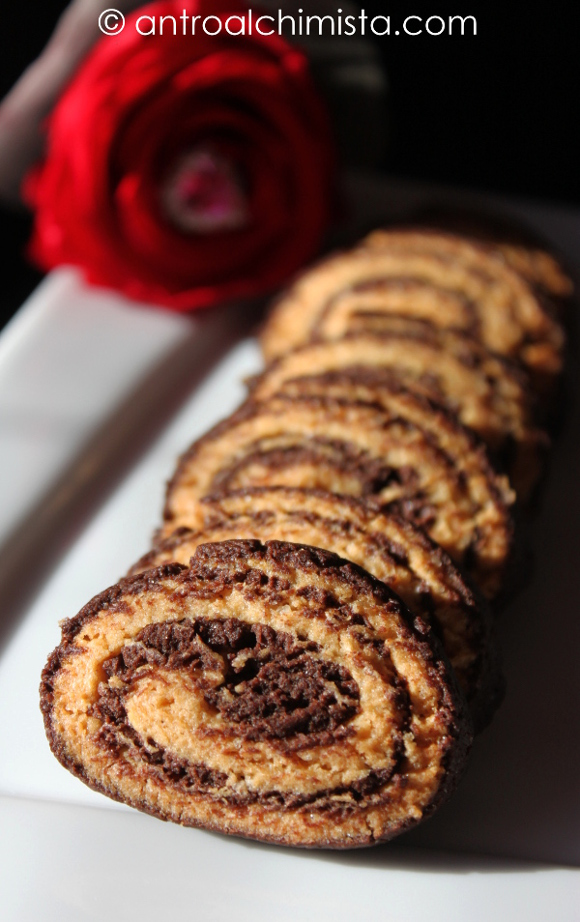 Biscotti Bicolore con Pasta Frolla SENZA Burro