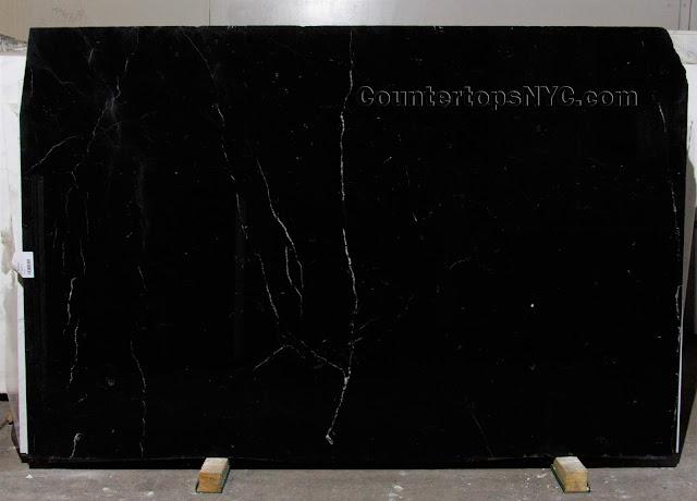 Nero Marquina Black Marble Slab NYC