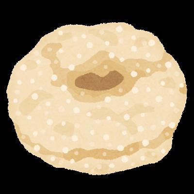 台湾ドーナツのイラスト