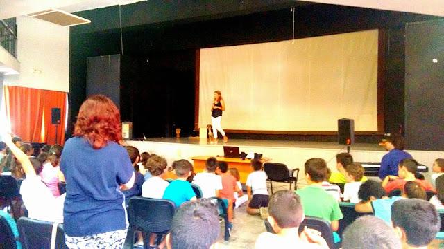 Παρουσίαση του  φιλοζωικού Συλλόγου Λάιζα στο Δημοτικό Σχολείο της Νέας Κίου