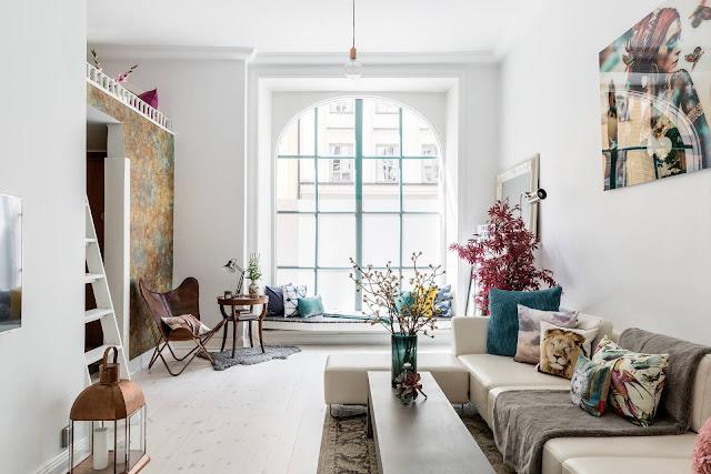 Eclectic scandinav într-un apartament de 84 m²