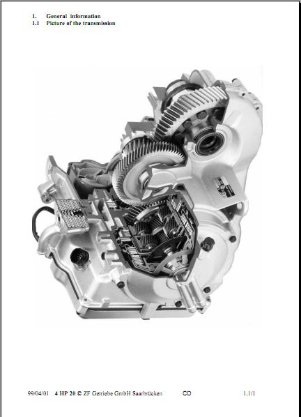 Zf Transmission 6 Speed