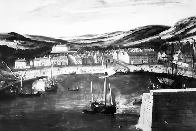 Whitehaven, 1686. Painting By Jan Wyck