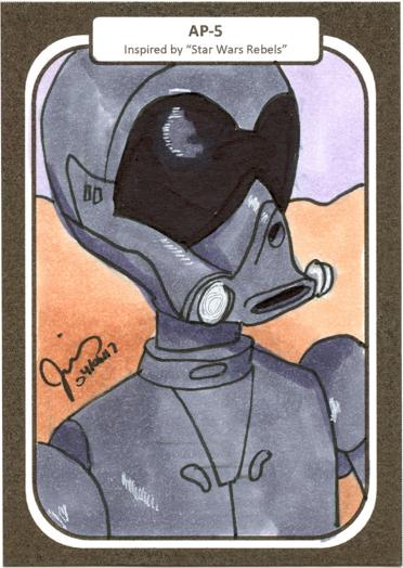A-P5 Sketch Card