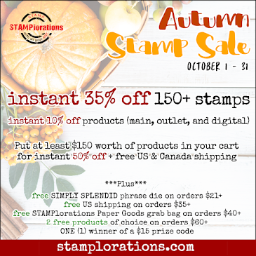 OCTOBER AUTUMN STAMPS SALE