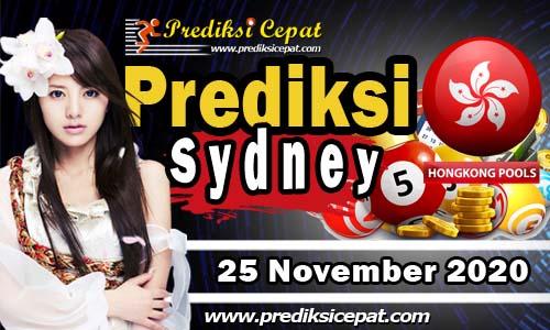 Angka Togel Sydney 25 November 2020 Jitu