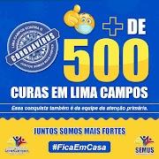 Lima Campos ultrapassa 500 curados da Covid-19