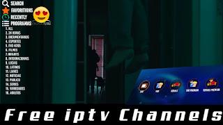 ماتهواه يأتيك من تطبيق قنوات مشفرة لاتينية لمشاهدتها مجانا  iptv p2p