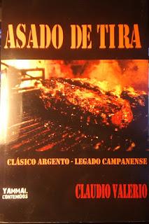 Asado de tira el libro de Claudio Valerio.
