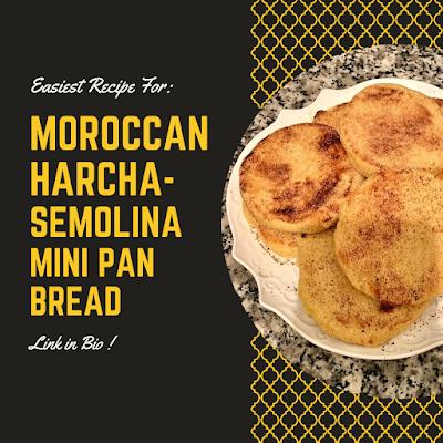 easy Moroccan Harcha