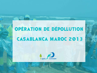 Operation de de-pollution Casablanca Maroc 2013
