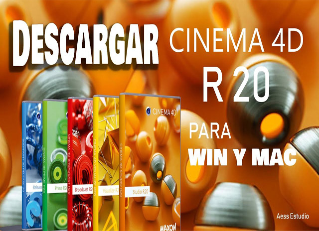 Cinema 4D Studio R20 -