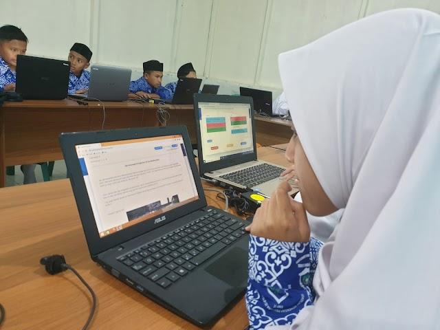 ANBK akan dilaksanakan Serentak, SMP IT Muhammadiyah Bireuen Lakukan Pra-Simulasi