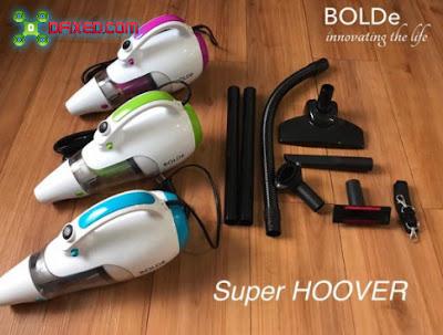 Vacuum cleaner super hoverbolde