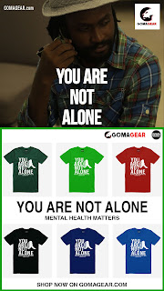 GOMAGEAR You Are Not Alone Unisex T-shirt