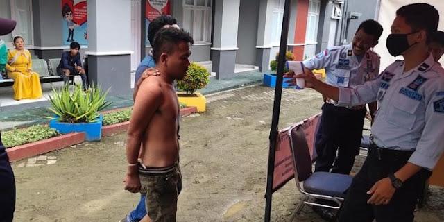 Baru Sehari Bebas Karena Program Asimilasi Corona, Rudi Kembali Ditangkap Karena Maling Rumah Tetangga