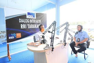 Wali Kota Tarakan Menjadi Narasumber Dalam Dialog Interaktif di RRI - Tarakan Info