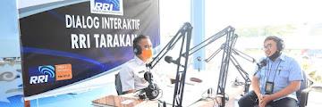 Wali Kota Tarakan Menjadi Narasumber Dalam Dialog Interaktif di RRI