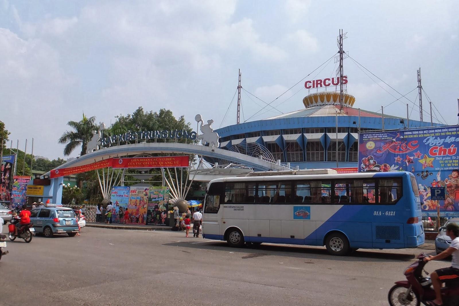 hanoi-circus ハノイサーカス