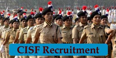 CISF Recruitment 2019 – 914 Constable/ Tradesmen Posts