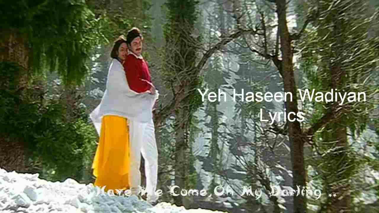 Yeh Haseen Wadiyan Lyrics in Hindi