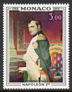 Monaco 1969 Bicentenary Birth of Napoleon