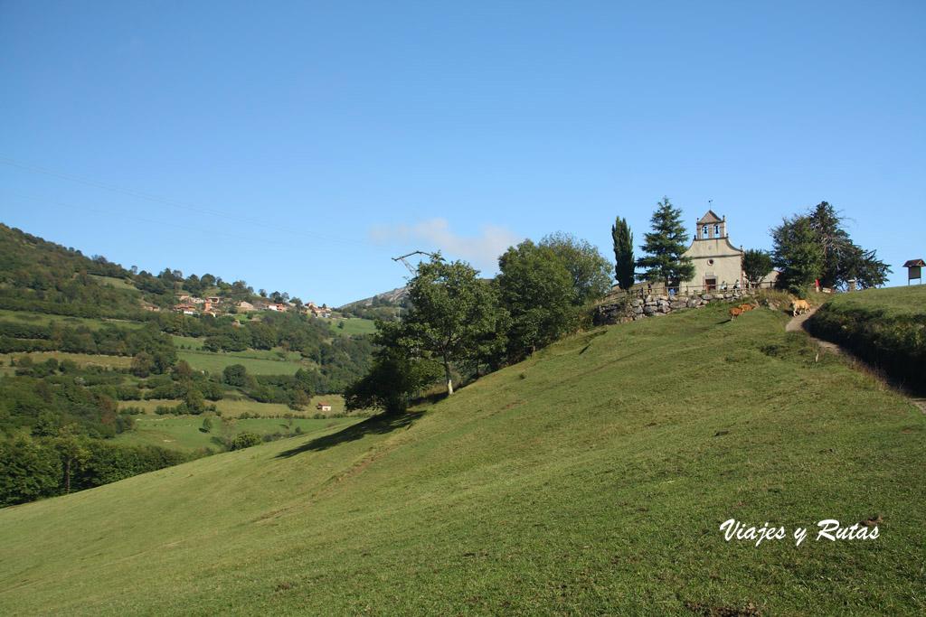 Ermita de la Ruta de las Xanas, Asturias