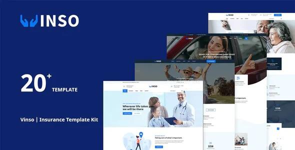 Best Insurance Elementor Template Kit