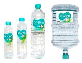 air minum pristine