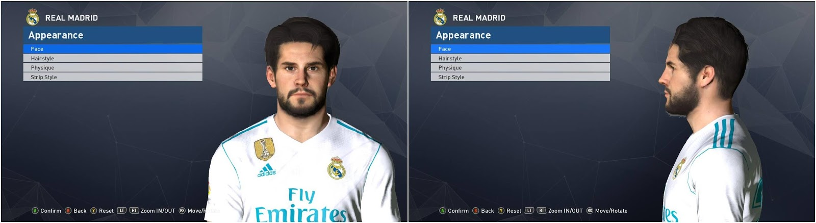 f67be4419b3 PES 2017 Isco Face Update 26 April 2018 by Ahmed El Shenawy