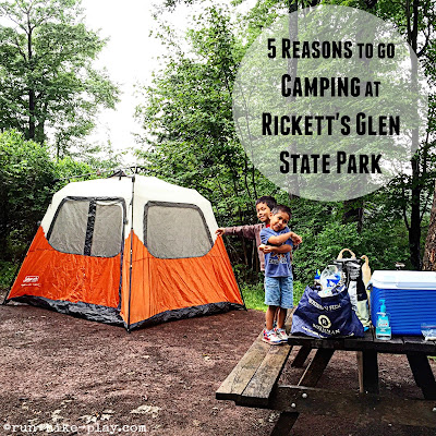 5 Reasons To Go Camping at Ricketts Glen State Park