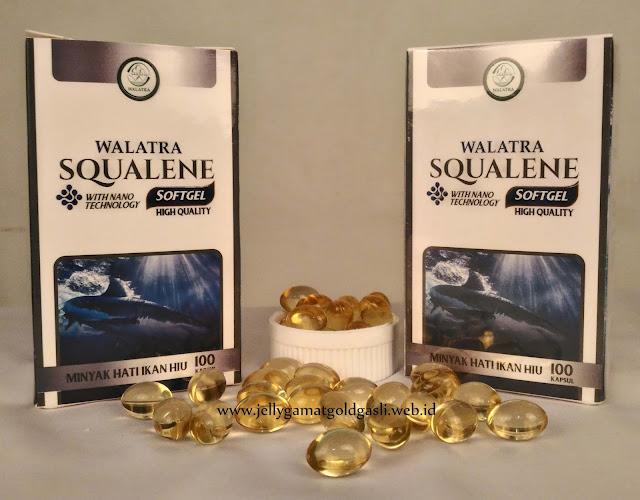 Walatra SQUALENE Asli - Minyak Hati Ikan Hiu Grade A + NANOTECNOLOGY