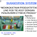 "Contoh Improvement ""SS"" (Sugestion System) Manufaktur Industri"